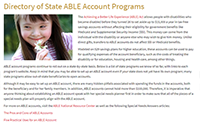Special Needs Answers Adds ABLE Account Program Directory