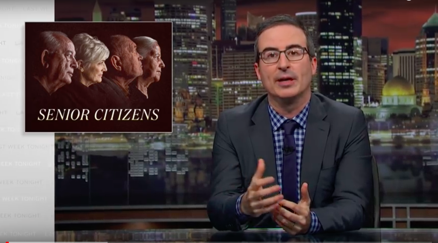 Problems With Guardianship System Is Focus of John Oliver Show