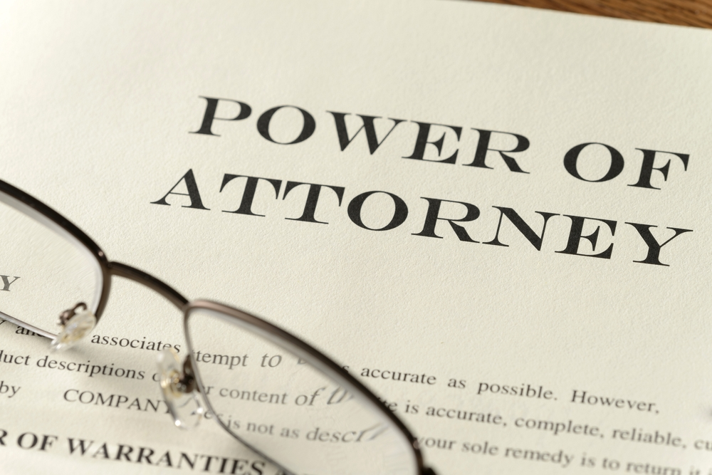 why not just use an off the shelf power of attorney form
